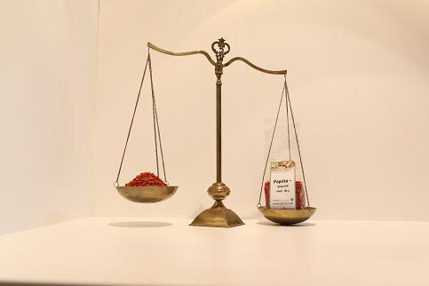 Paprika Granulat rot (1-3mm) 100 g