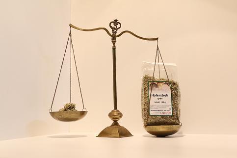 Haferstroh grün 250 g