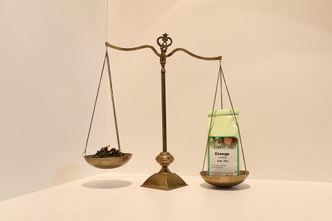 Grüner Tee Orange 100 g