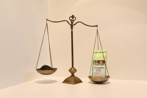 Grüner Tee schwarze Johannisbeere 100 g