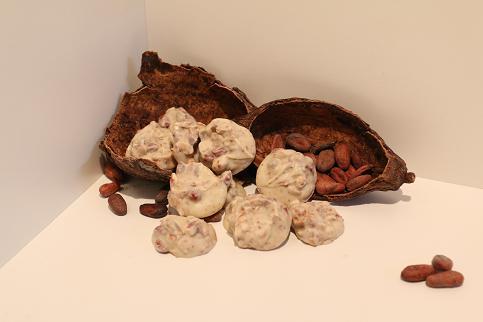 Erdnussberge weisse Schokolade 200 g